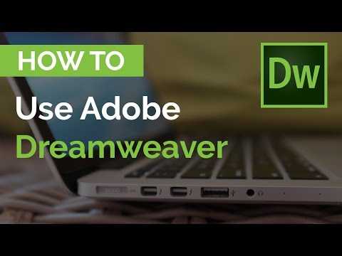 Dreamweaver CC Tutorial - How To Use Adobe Dreamweaver