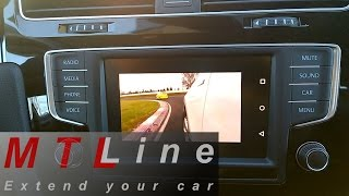 VW Golf 7, MY2016 – running YouTube on Composition Media WHILE VEHICLE IS IN MOTION