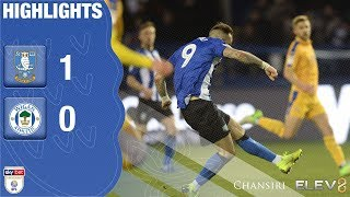 Sheffield Wednesday 1 Wigan Athletic 0 | Extended highlights | 2018/19