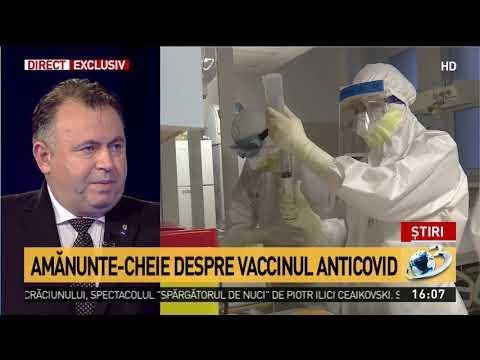 Nelu Tătaru:  Primele Doze De Vaccin Anti-COVID Ajung în România Pe 27 Decembrie