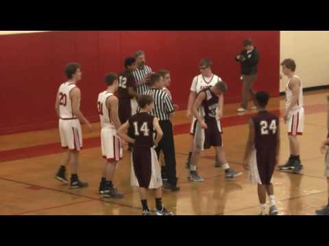 NCCS - Massena Boys  11-26-16