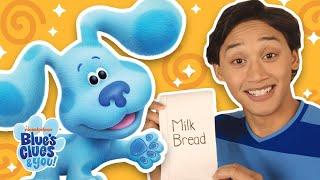 Help Josh & Blue Go Grocery Shopping! 🛒🍞 Blue's Clues & You!