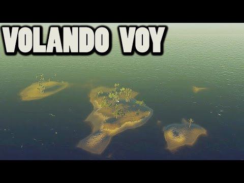STRANDED DEEP #13 - VOLANDO de isla a isla, surfeando ballenas, y más :) | Gameplay Español