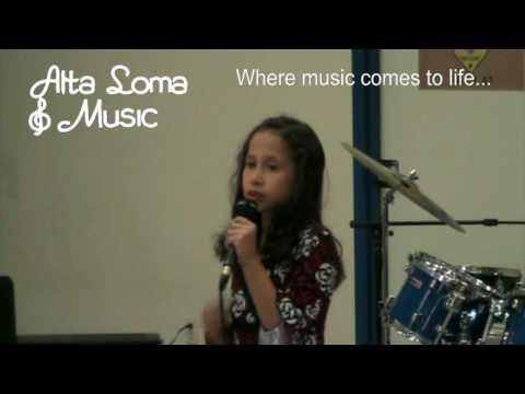 Alta Loma Music Store (Corona Norco) Student Showcase 3/28/10 Voice Teacher Caroline Kil and Student