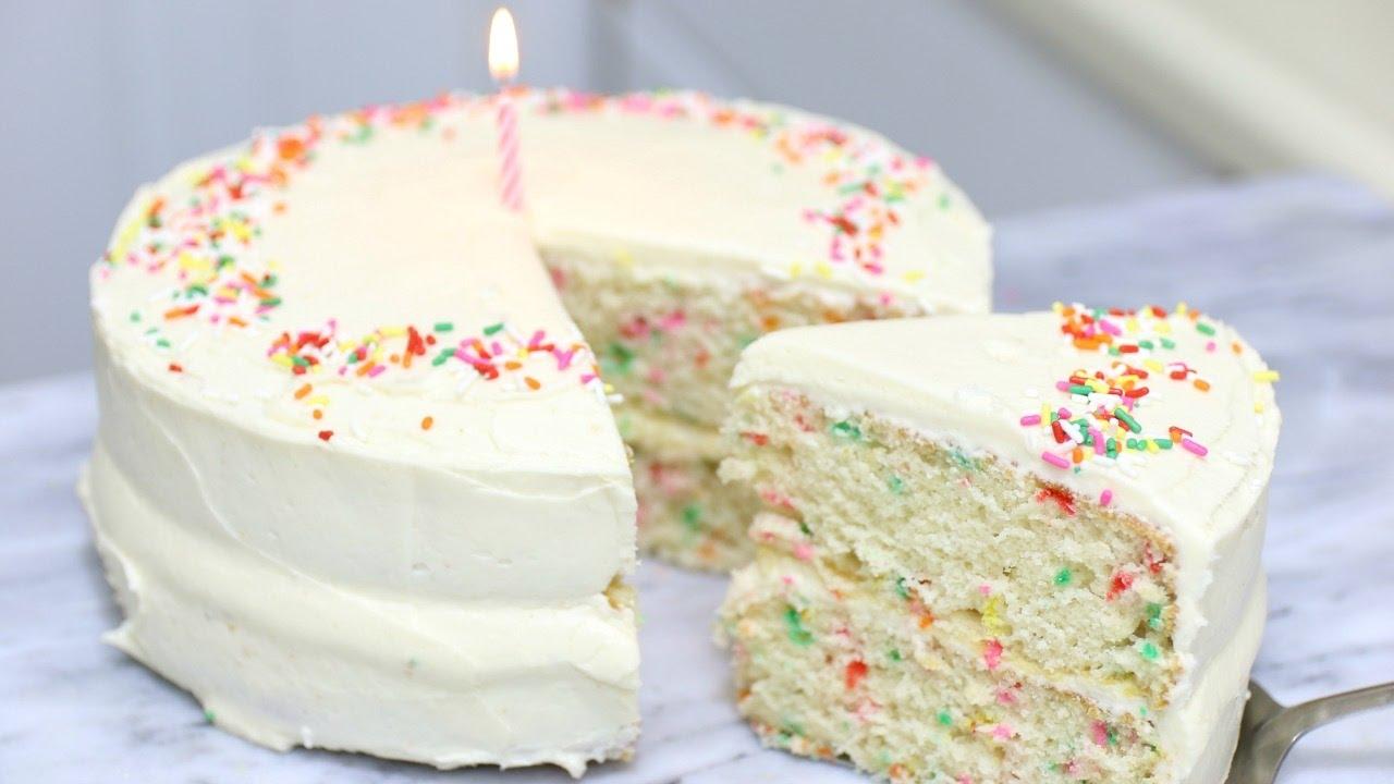Funfetti Birthday Cake Episode 232 Youtube