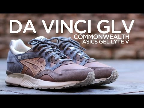 finest selection 3f702 72692 Closer Look: Commonwealth x Asics Gel Lyte V -