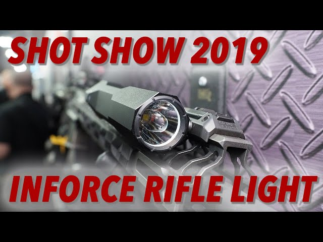 New Inforce Rifle Light 1500 lumens – SHOT Show 2019