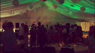 The Bratz Band - Walking On Sunshine. Irish Wedding in Clonabreany House, Dancefloor view!!