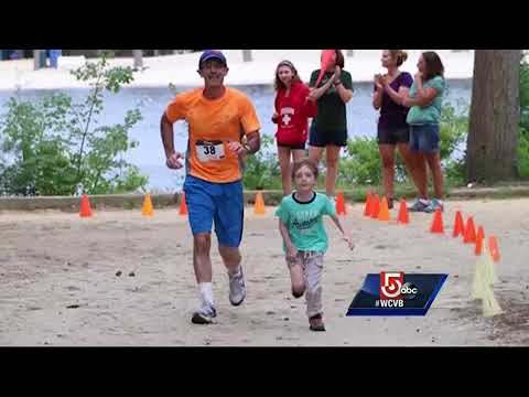 Man spins to raise money to fight rare cancers