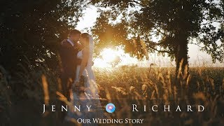 Jenny & Richard - Wedding Film at Clock Barn, Whitchurch - Chris Spice Films