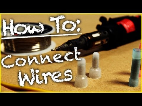 hqdefault how to properly connect a wire harness car audio 101 youtube how to wiring harness at arjmand.co