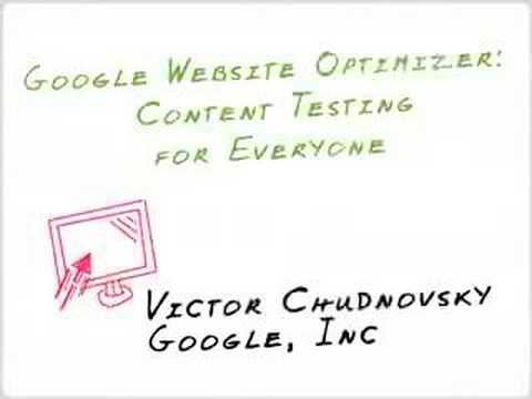 how to use google website optimizer