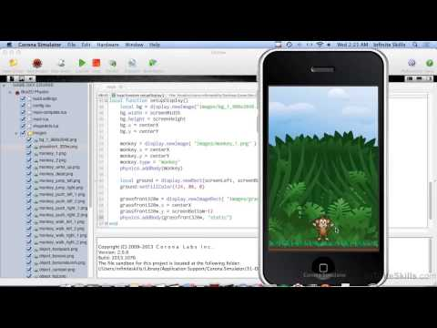 Mobile Game Development With Corona SDK | Setting Up Your Physics World