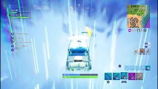 Fortnite Driving Into a Portal With The Dune Buggy
