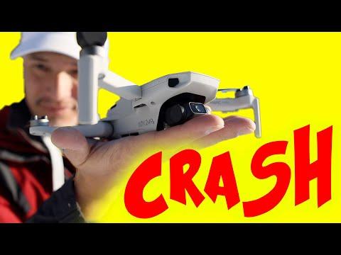 Mavic Mini will CRASH: Review & Giveaway