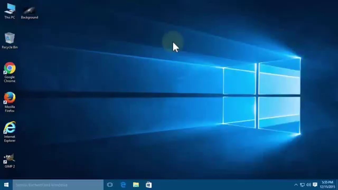 Customise login screen windows 10 background image location