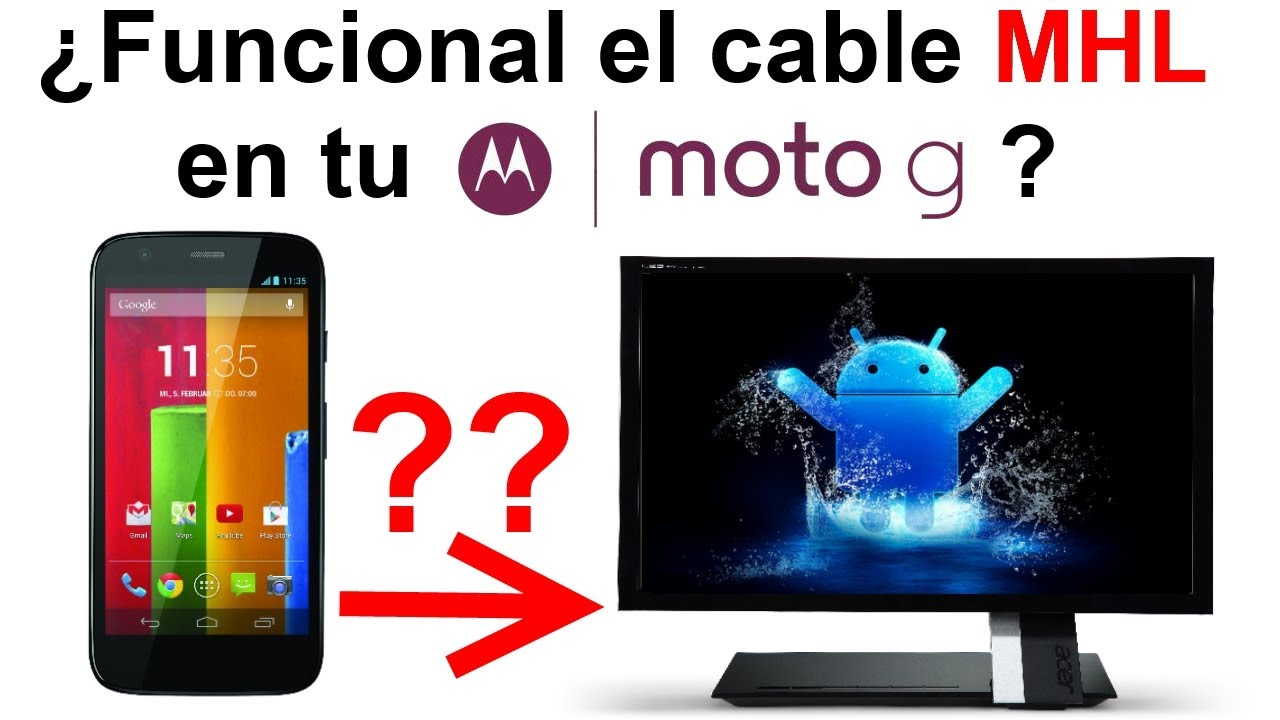 Motorola Moto G 191 Podemos Conectar El Moto G A Un Monitor