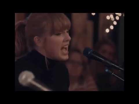 Taylor Swift Performing Better Man At The Bluebird Café