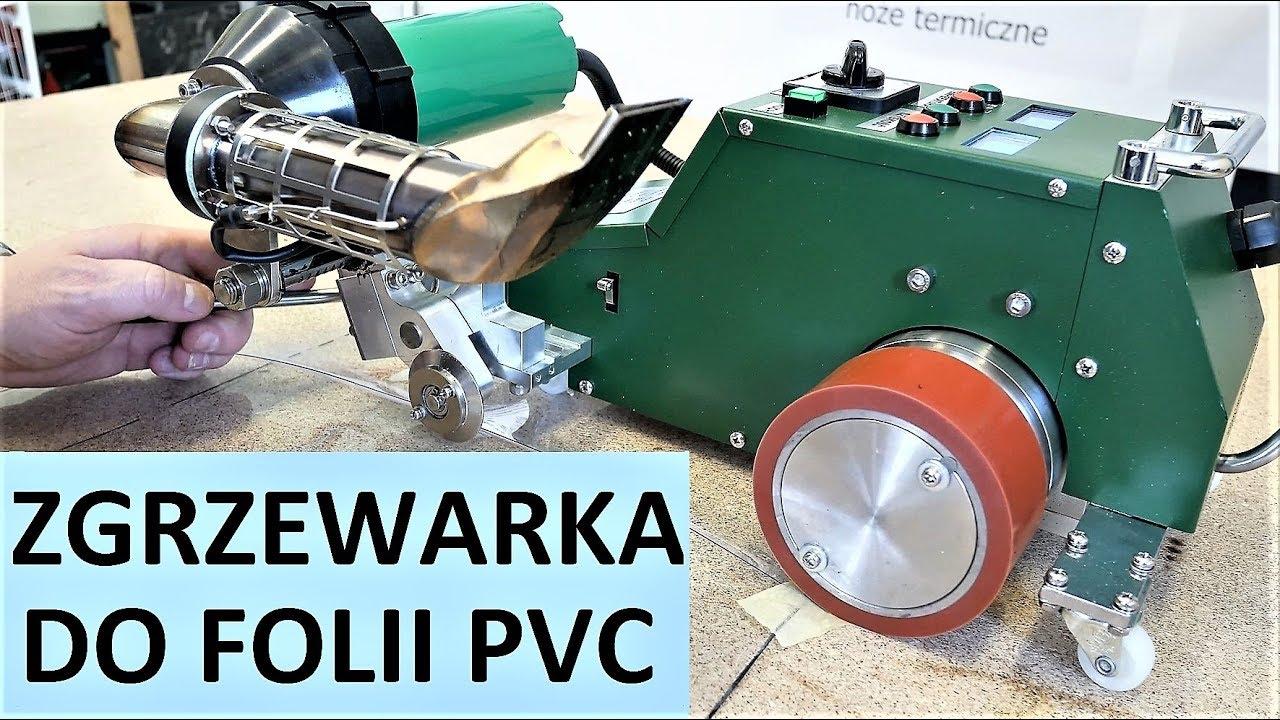 Topnotch Zgrzewarka do folii PVC - okien namiotowych - YouTube LK28