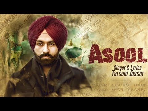 ASOOL (Full Video) Tarsem Jassar | Latest...