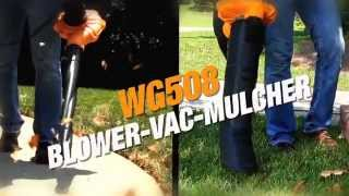 WORX WG508 Blower Vacuum Mulcher Don't Buy Until You Whatch This Video!!!