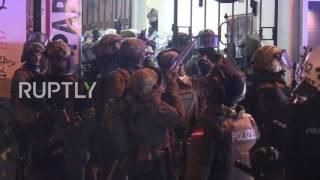 Germany: SEK storm Hamburg block as G20 protests escalate