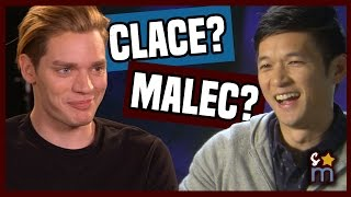 SHADOWHUNTERS Season 2A Interview: Clace, Malec & War for the Cup | Shine On Media