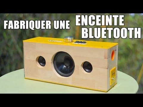 Fabriquer une enceinte bluetooth !
