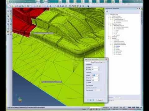Model Deformation - Complex Springback