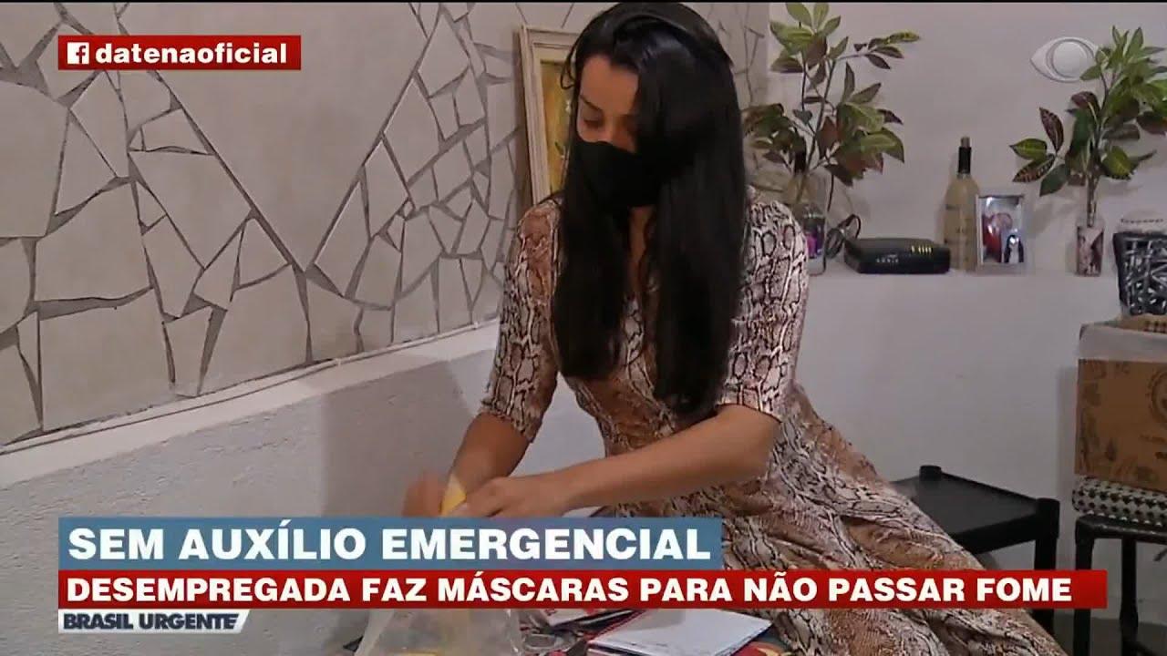 DESEMPREGADA VIVE DRAMA DE NÃO CONSEGUIR RECEBER AUXÍLIO EMERGENCIAL | BRASIL URGENTE
