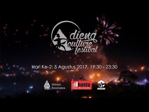 #Part 2 (Official) Live Jazz Atas Awan - Dieng Culture Festival (DCF) 8 Hari Ke-2: 5 Agustus 2017