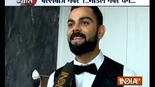 Exclusive: Virat Kohli says walking the ramp makes him nervous