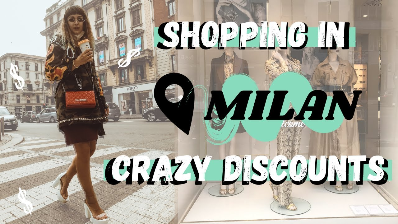 Shopping in Milan First Time After The Lockdown