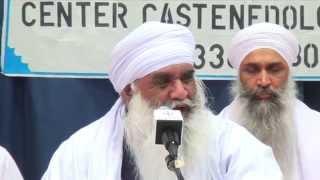 [05.10.2014] Sant Baba Mann Singh Ji - Gurdwara Baba Budha Ji Sikh Centre (Italy)