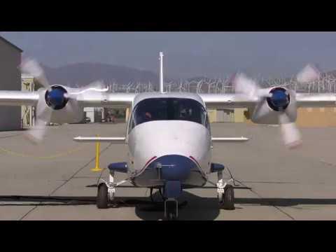 Американский электрический самолет X-57 впервые запустил моторы
