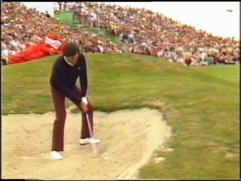 A bunker lesson from Seve