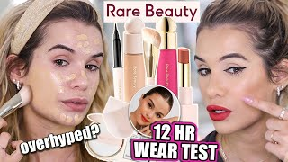 TESTING RARE BEAUTY by Selena Gomez.. Is it ACTUALLY Worth the Hype?!
