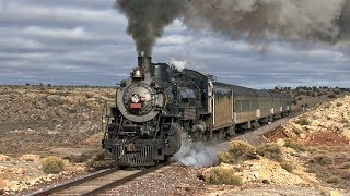 Steam on the Grand Canyon Railway