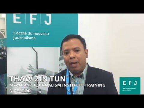 Interview Thaw Zin Tun #4MPARIS