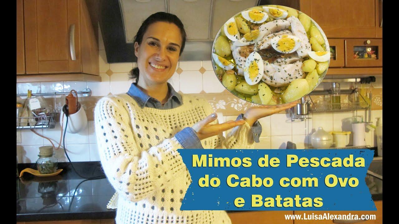 Mimos de Pescada do Cabo com Ovo e Batatas • Receita em