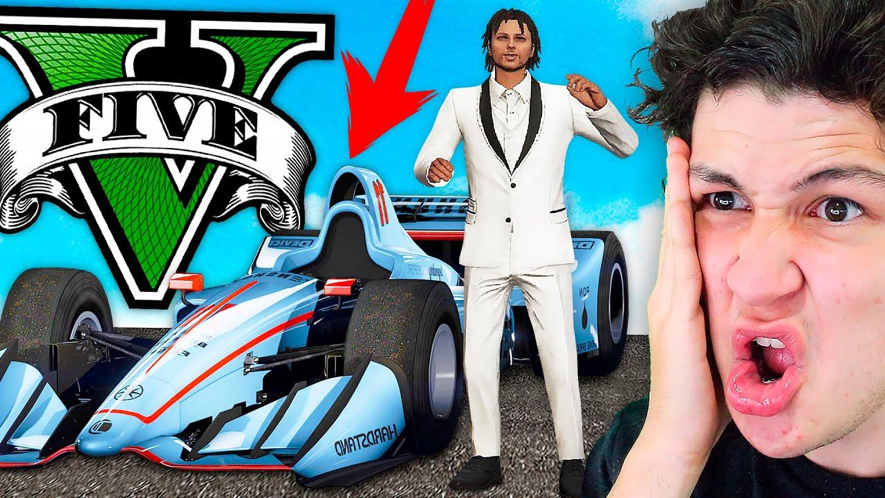 Mi NUEVO COCHE en GTA 5! *FÓRMULA 1* Grand Theft Auto V - GTA V Online DLC Summer Special