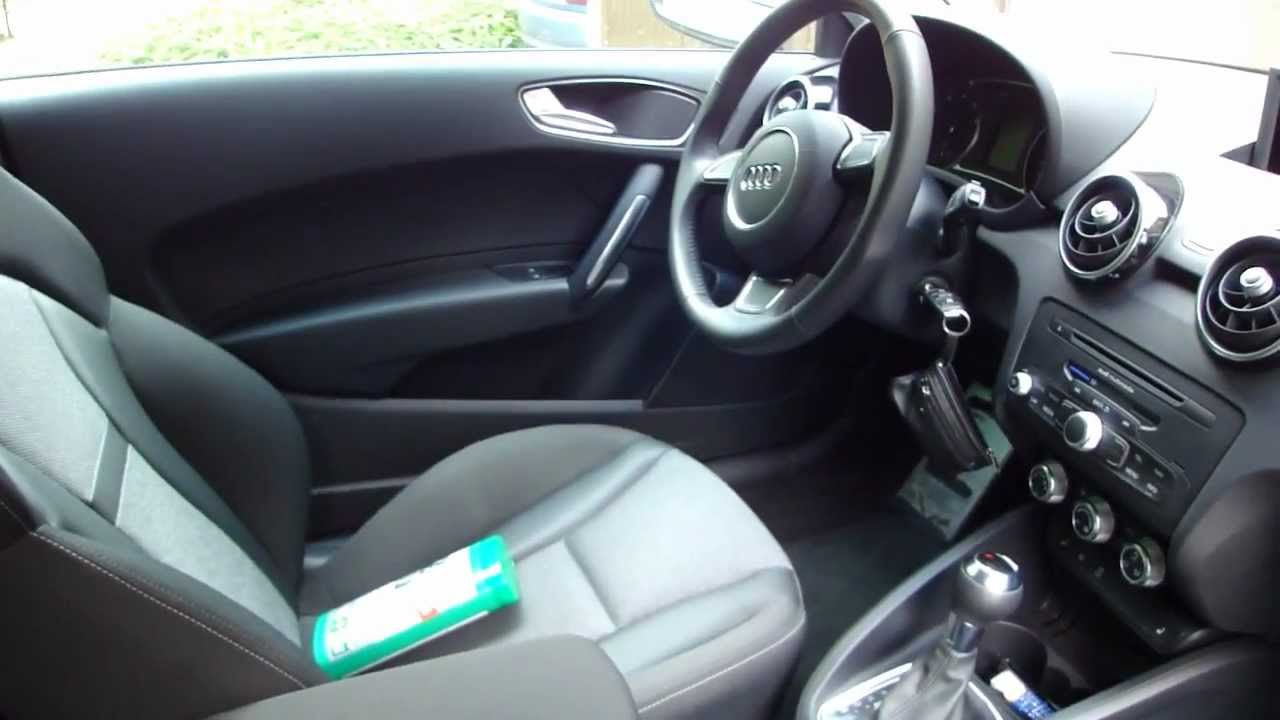 clean the interior on my car audi a1 youtube. Black Bedroom Furniture Sets. Home Design Ideas