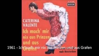 Caterina Valente   Ich mach mir nix aus Prinzen und aus grafen