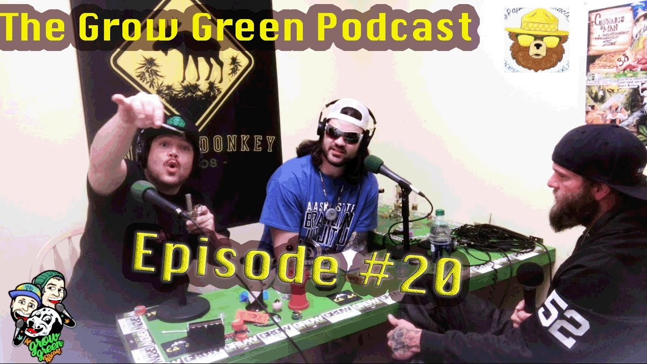 Grow Green Podcast #20 Papa Bear Extracts, Concentrates