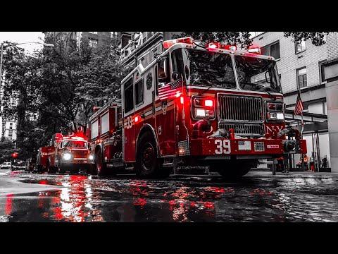 | FDNY Major Water Main Break Box 974 | Major FDNY Response to Flooded Street and Basements