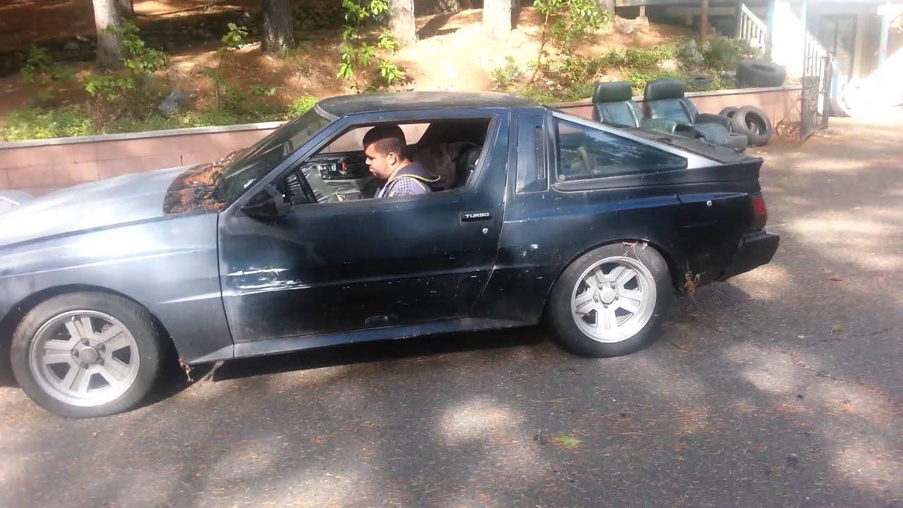 Aj S Chrysler Conquest Drift Car Youtube