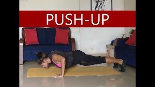 How to do a Perfect Push- Up Beginners to Advance