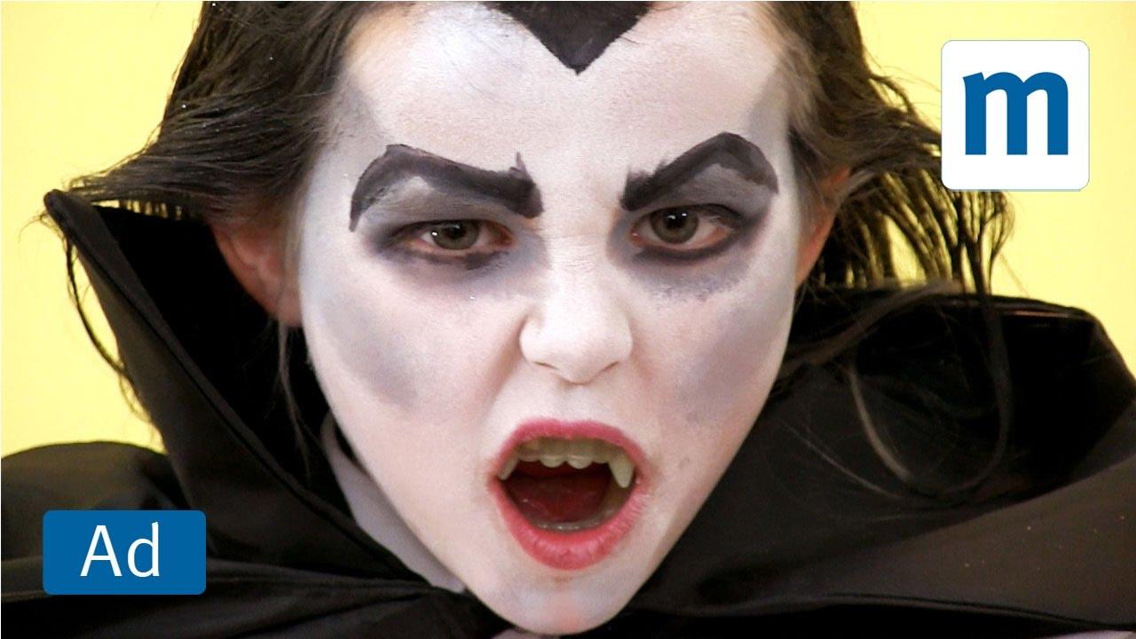 Uncategorized Dracula Face Painting vampire face paint tutorial hotel transylvania 2 youtube 2