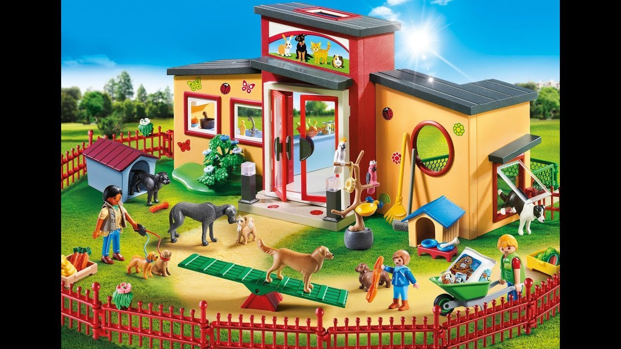 Playmobil 2019 clinique v t rinaire zoo animaux playmobil city life youtube - Toute les maison playmobil ...