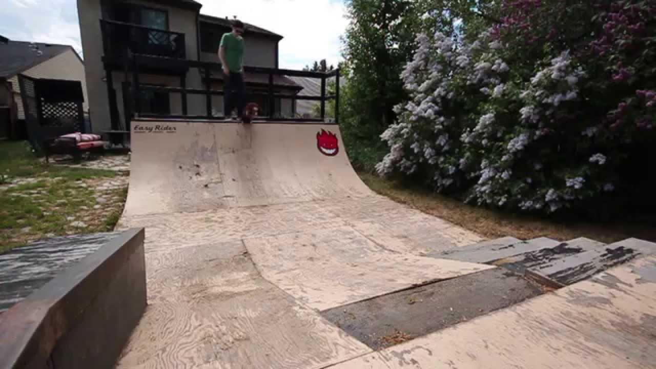backyard skatepark 4 youtube